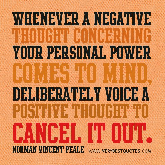 Have Positive Thoughts Quotes: Best 25+ Negative Thoughts Quotes Ideas On Pinterest