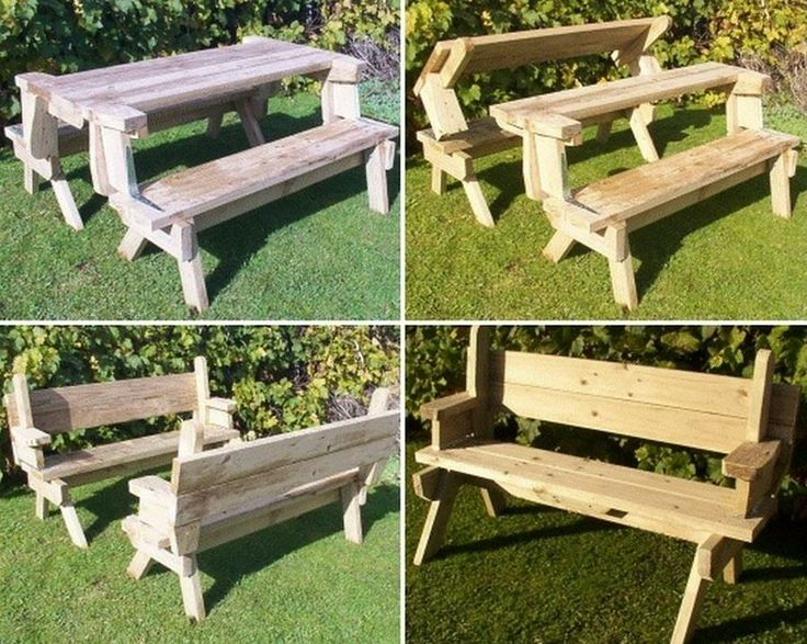 12 Best Images About Picnic Tables On Pinterest Outdoor Tables The Square And Furniture Ideas
