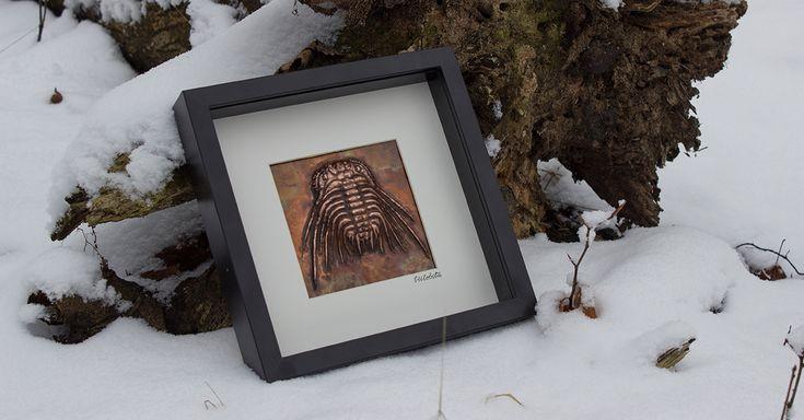 Kuźnia Druida » Obraz z miedzianym Trylobitem