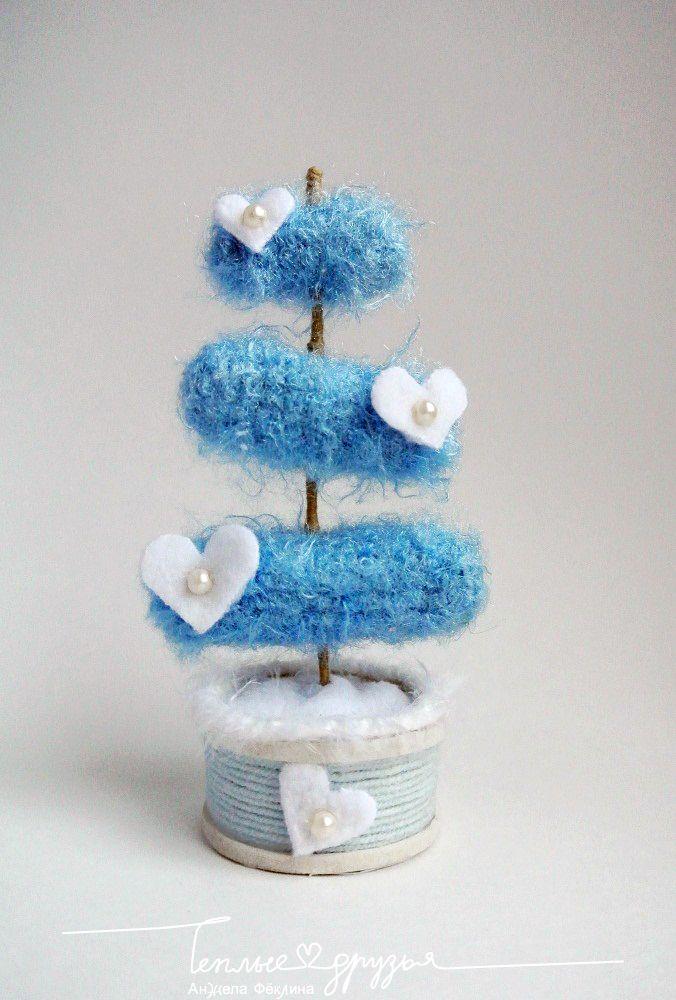 Теплые друзья | Toylesson: Голубая ель. Мини МК