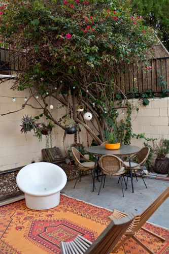 outdoor space.: Maia Harms, Stylist Shirley, Private Place, Outdoor Living, Outdoor Retreat, Shirley Kurata S, La Abode, My Style