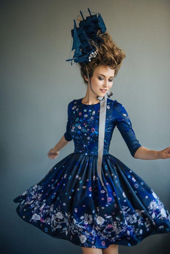 Royal Blue - short dress