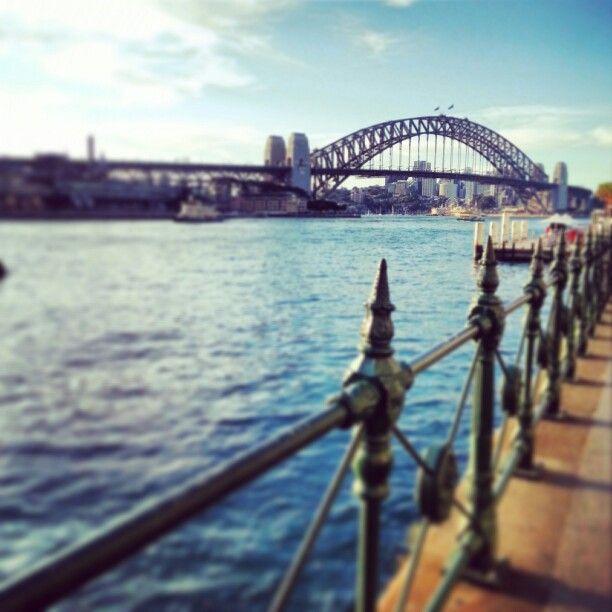 Harbor Bridge, Sydney.