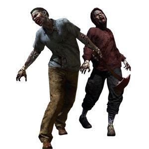 esta es otra de las imágenes de zombies que elegí porque vi en ella lo que quería en mi dibujo.