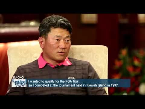 """The INNERview invited a very special guest for their 100th episode. It's none other than K.J. Choi, who became the first Asian Golfer to win 8 PGA tournaments and who has established a Charity Foundation to give back to society. K.J. Choi, referred to as the """"Black Tank"""" by the American media, has had a strong influence on and off the field, with some people even saying,""""If God chose Tiger Woods, K.J. Choi moved God."""" ▶ The INNERview #100- K.J. Choi (최경주),  ㅡ PGA Pro Golfer, a.k.a the 'Tank'"""