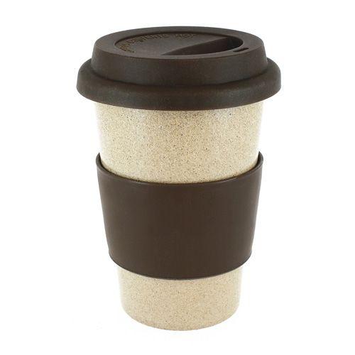 Cup van bio plastic, 90% rijstschil