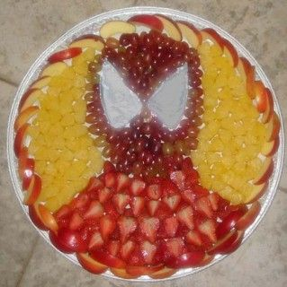 Spiderman FruitPlate