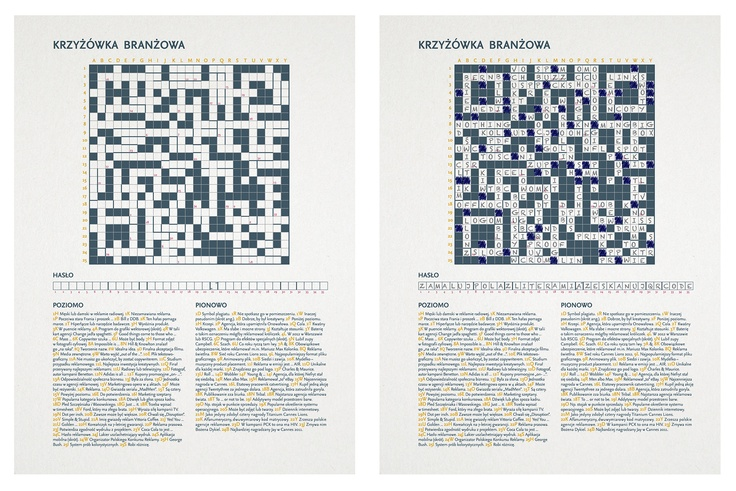 JWT Copywriters Crossword - print ad - before and after