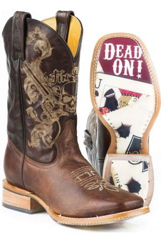 Tin Haul Outlaw Cowboy Boots Urban...love these