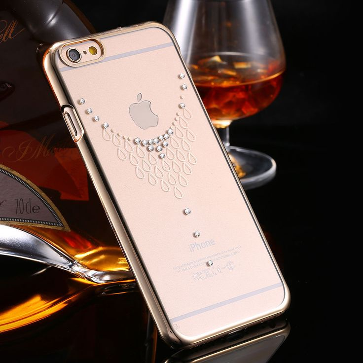 Luxury iPhone 6 Glitter Rhinestone Diamond Case Crystal Clear Girl Hard Back Cover