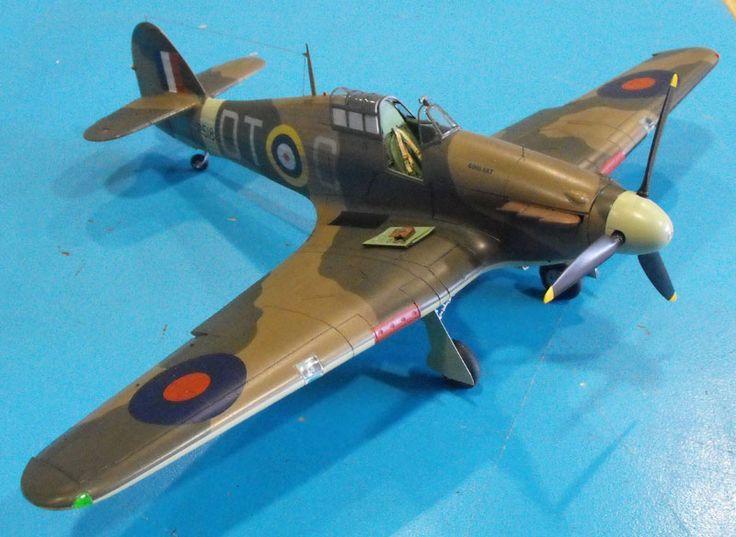 Earl's 1/24 Airfix Hurricane