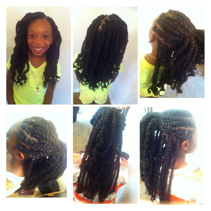 Terrific Marley Twists Twists And Kid On Pinterest Short Hairstyles For Black Women Fulllsitofus