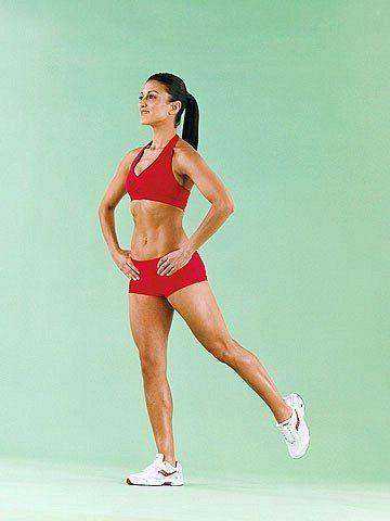 Как правильно выполнять махи ногами для похудения?