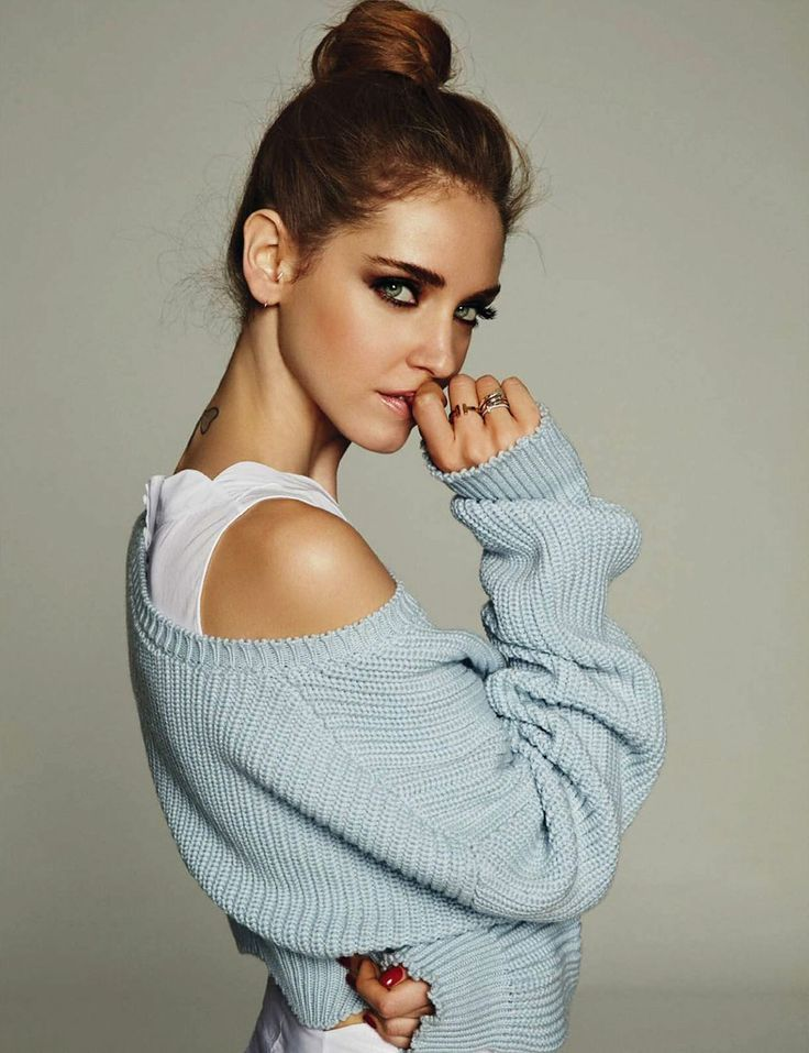 Hair inspiration of the day: Chiara Ferragni's chic ballerina bun