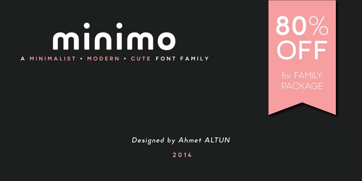 Minimo (80% discount, family 13,40 €) - http://fontsdiscounts.com/minimo-80-discount-family-1400-e/