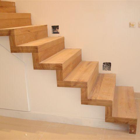 escalier bois moderne piano