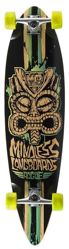 #Mindless The Mindless Tribal Rogue II is one of the most popular starter boards out there, and is now available in two great limited edition colours!With a wide pin-tail deck and subtle concave, the Tribal Rogue II limited edition is ideal for beginners and occasional riders.Gradient graphic printDual colour swirl wheelsPrinted logo on top with die-cut grip tapeLength – 96.5cm / 38 inchesWidth – 24.75cm / 9.75 inchesWheelbase – 71.5cm / 28.2 inchesShallow concave pin-tail boar...