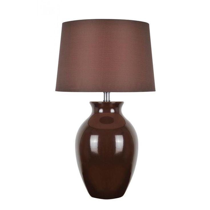 Filament Design 26.75 in. Brown Table Lamp