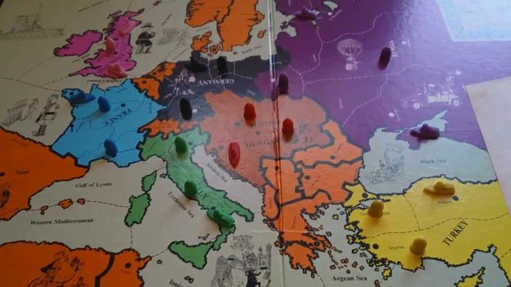 How to play Diplomacy Board Game (Tutorial Part 1 of 5)