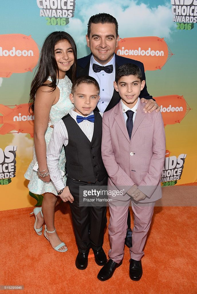 Sofia Valastro, Marco Valastro, Buddy Valastro, and Buddy Valastro Jr. attend Nickelodeon's 2016 Kids' Choice Awards at The Forum on March 12, 2016 in Inglewood, California.