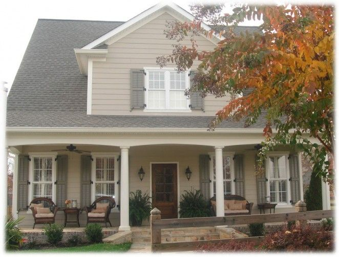 exterior house shutters | Exterior, Installing Exterior Shutters Give Attractions for Your Home ...