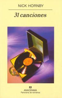Un libro al día: Nick Hornby: 31 canciones