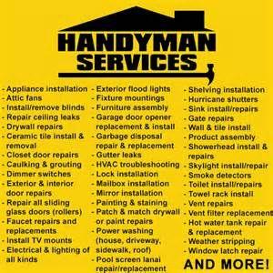 Handyman Home Repair Maintenance Checklist Bing Images