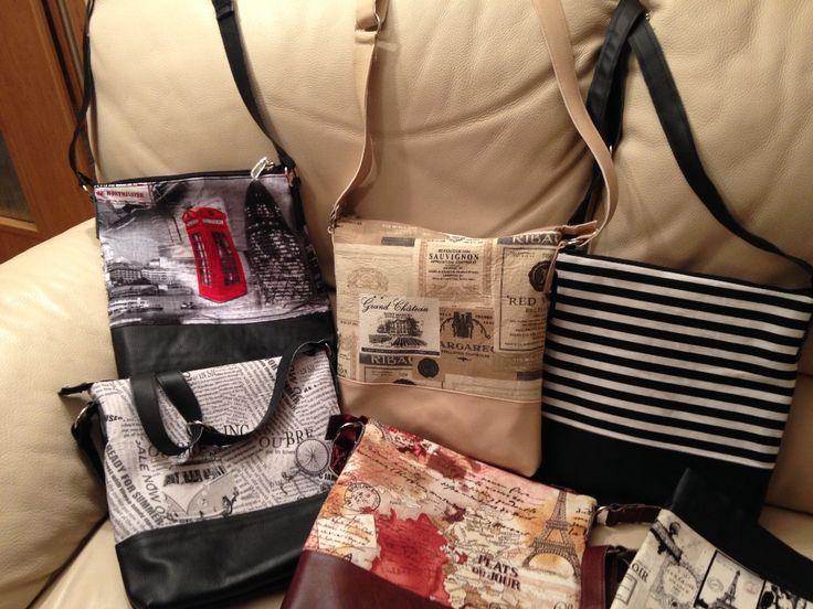 šití látkové kabelky :: Rozmarnosti
