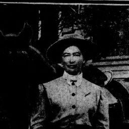 San Francisco Call 28 April 1912 — California Digital Newspaper Collection--Miss Mamie Morrison, deputy registrar of voters, belle of the little town of Rough and Ready and the most expert horsewoman in northern California. My Great Grandmothers cousin!