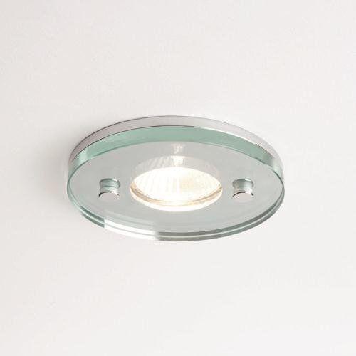 ICE ROUND - Glas Einbaustrahler 230V
