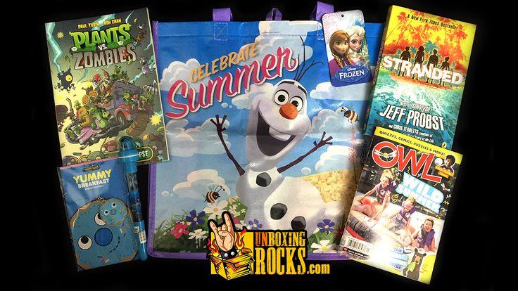 All Items Inside July, 2015's Nerd Block Jr. For Girls