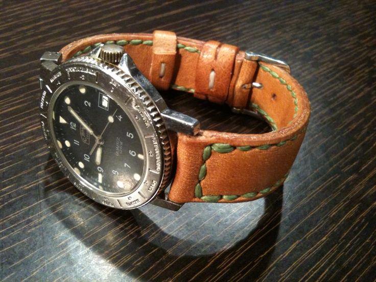 Handmade Leather Watch Straps  https://www.facebook.com/koiros.epelexos