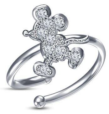 Disney Discovery- Mickey Mouse Adjustable Ring