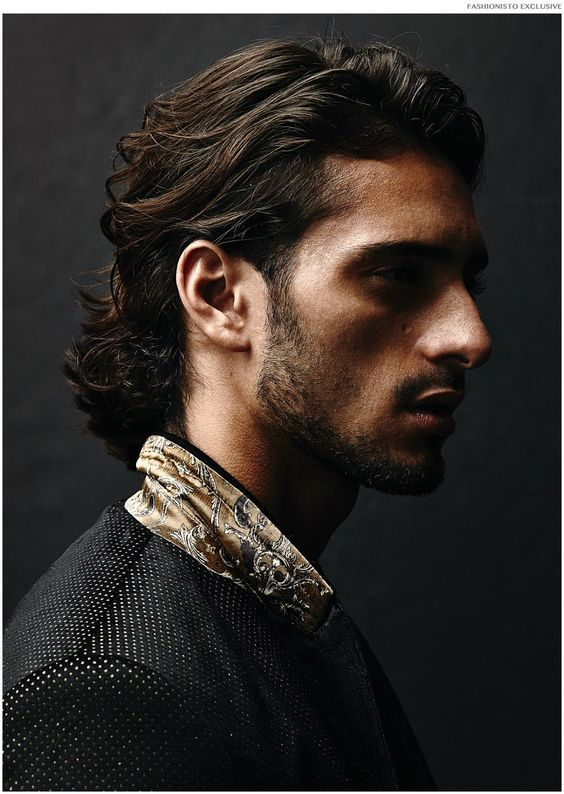 the shadow gaunt across his face, and the textures in his hair