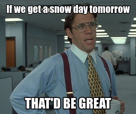 snow day meme - Google Search
