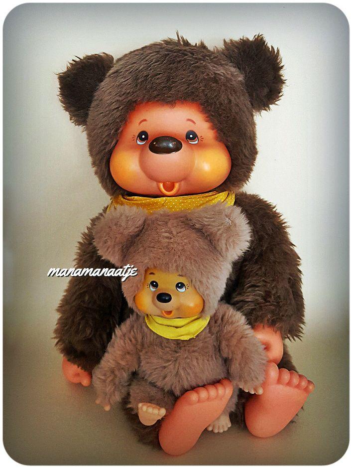 Sekiguchi Tobby bears. #monchhichi  #monchichi #sekiguchi  #tobbybear