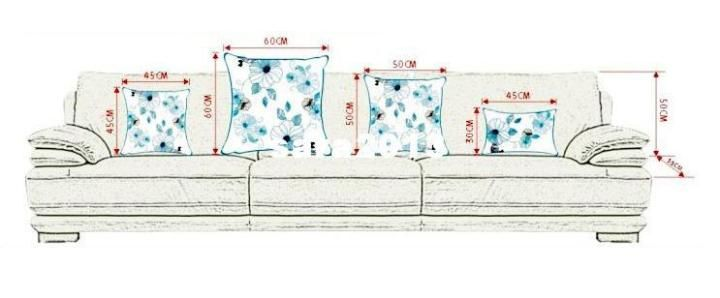 Standard Sofa Cushion Size Conceptstructuresllc Com
