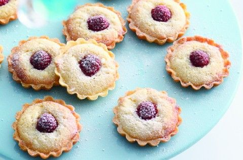 Mini raspberry and frangipane tarts recipe - goodtoknow