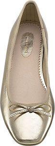 Graceland Ladies' Gold Ballerinas | Deichmann