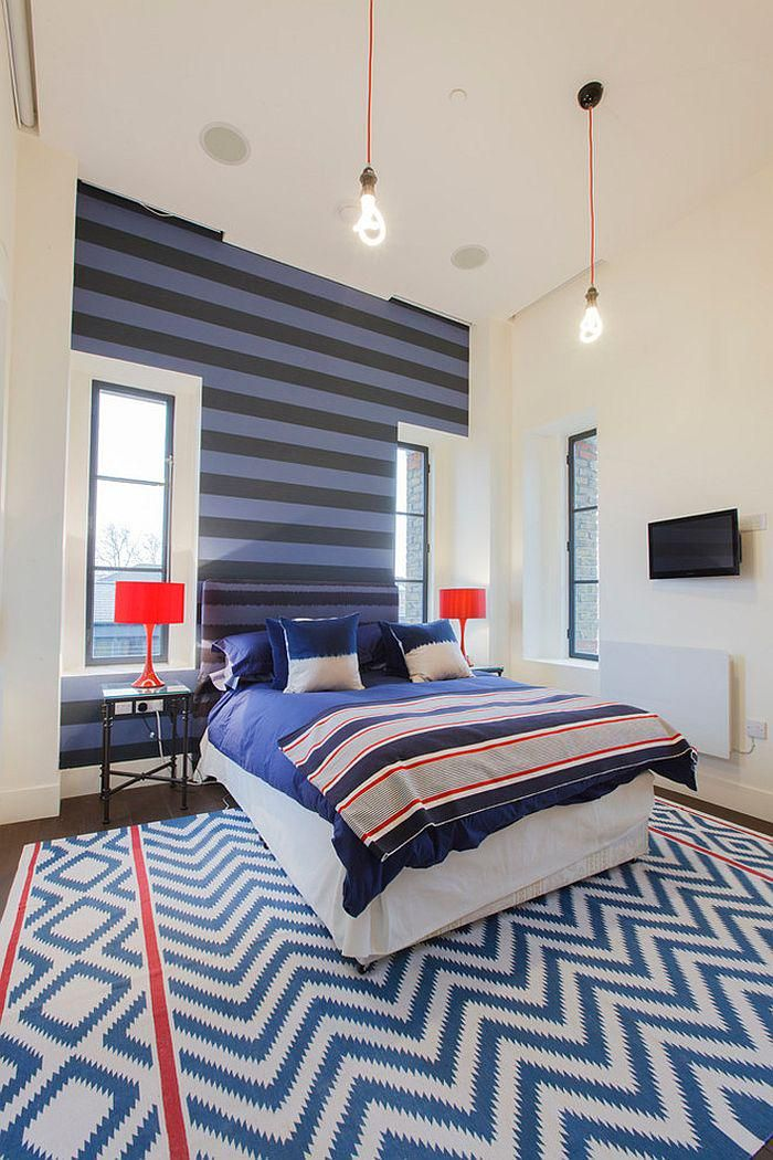 Beautiful Striped Accent Walls for Your Bedrooms https://youtu.be/JR5lllOW6uU