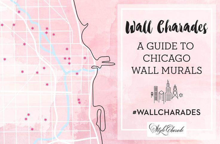 Guide to the best Chicago murals, street art and colorful walls // via @Jennifer_Lake #wallcharades