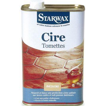 Cire tomette, STARWAX, 1 L LEROY MERLIN  13 E 60