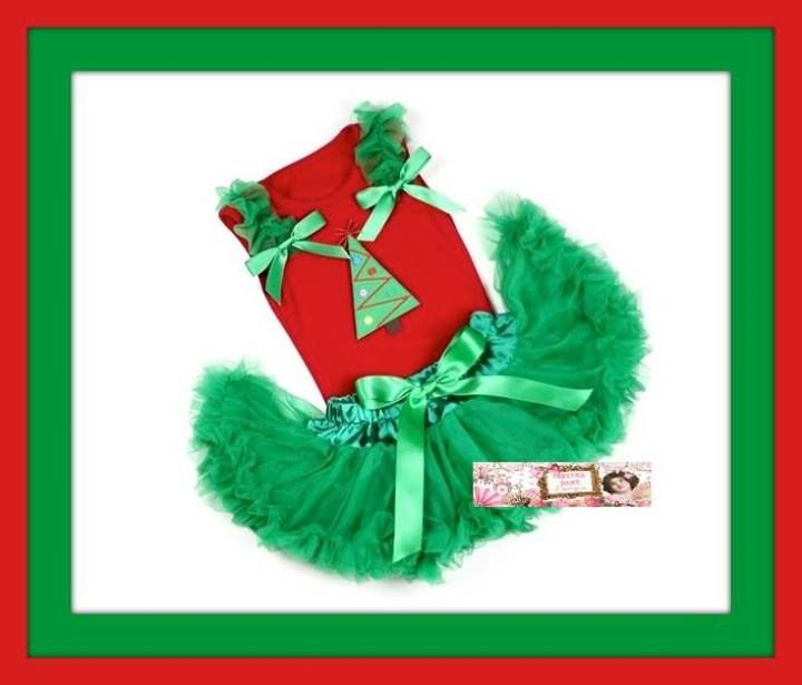 Baby Girls Christmas  https://www.facebook.com/IndianaSageDesigns