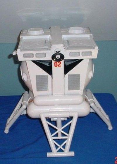 Major Matt Mason Lunar Astro Lander Spaceship Madelman (03 ...