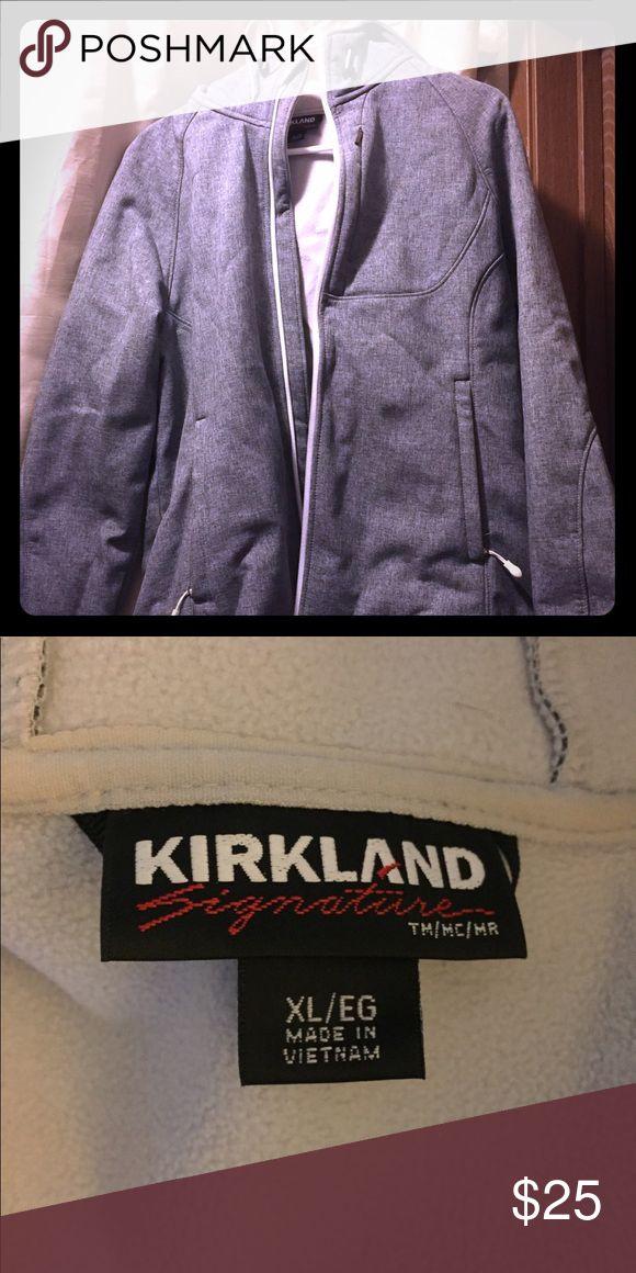 XL Kirkland Women's Jacket XL Heathered Gray Kirkland brand women's jacket. Very good gently used like new condition. Jackets & Coats Utility Jackets
