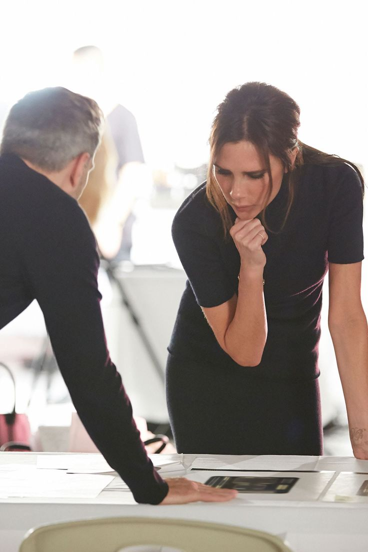 The Victoria Beckham Estée Lauder make-up collection will launch later this year