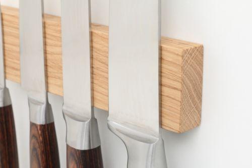50 cm 12 knives ! Magnet-Messerleiste-Messerhalter-Messerblock-Messer-Leiste-Massivholz-Kueche-Holz
