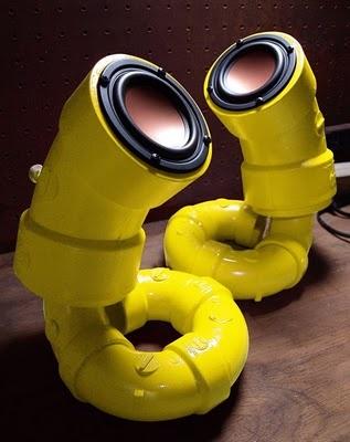 PVC Pipe Speakers