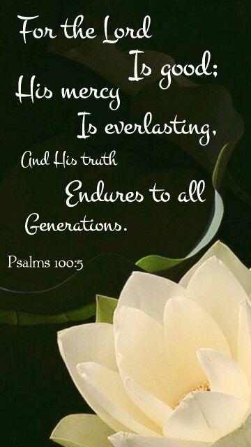 Psalms 100:5