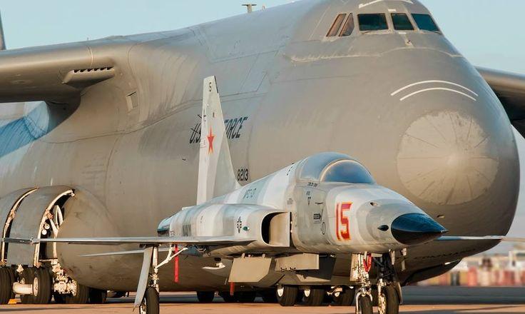Northrop F-5 Tiger --- Lockheed C-5 Galaxy